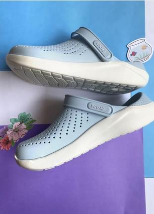 Crocs literide clog mineral blue