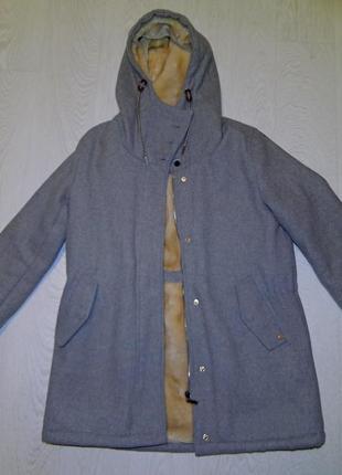 Зимнее пальто pull&bear