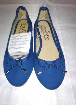 Балетки бренда blue motion.