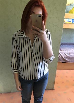 Новая рубашка в полоску zpb
