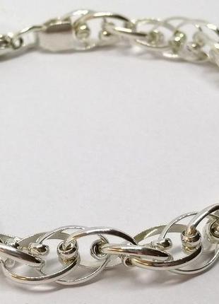 Браслет из серебра 925 пробы *фантазия-2*