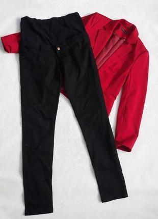 Джинсы для беременной беременность чёрные джинсы брюки для беременной