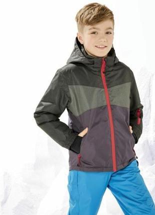 Куртка демисезонная, мембранна термо-куртка crivit рост 146-152