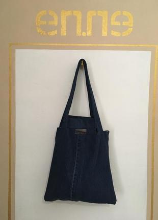 Срочно! переезд!! новая джинсовая сумка шоппер пляжная городская