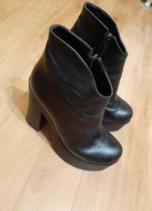 Ботинки nord кожа