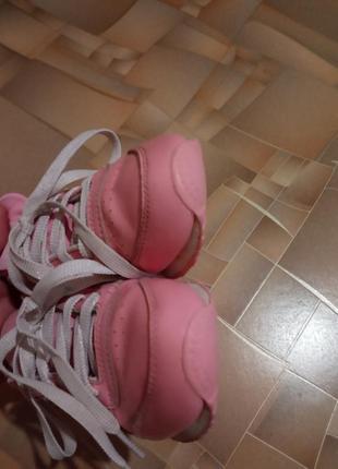Кожаные кроссовки reebok.4 фото