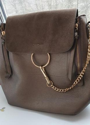 Стильный рюкзак. актуальный рюкзачок