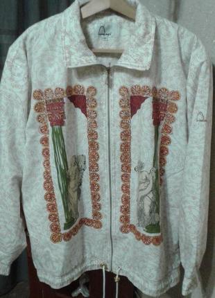 Куртка ветровка с принтом head,42 евр..,сток.