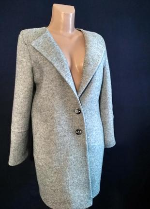 Мягкое пальто для весны, шерсть букле