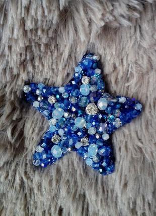 Брошь звезда #розвантажуюсь