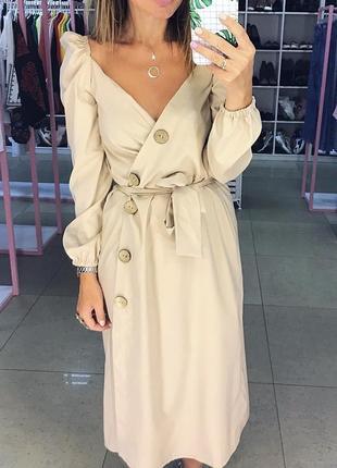 Платье из хлопка