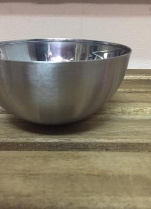 Миска, нержавеющая сталь, 12 см,икеа