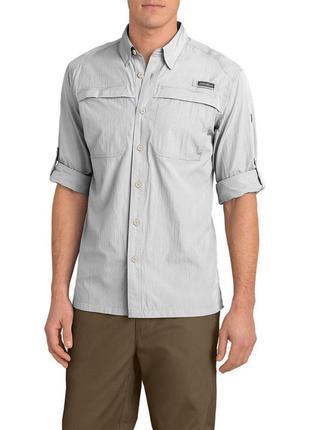 Рубашка мужская eddie bauer guide long-sleeve shirt