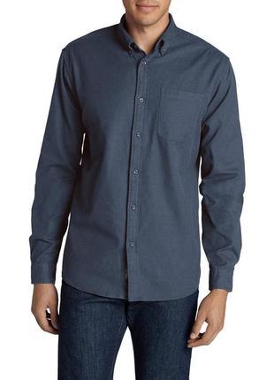 Мужская рубашка eddies bauer favorite flannel classic fit shirt