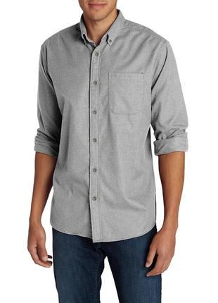 Мужская рубашка eddie bauer men's eddies favorite flannel classic fit shirt