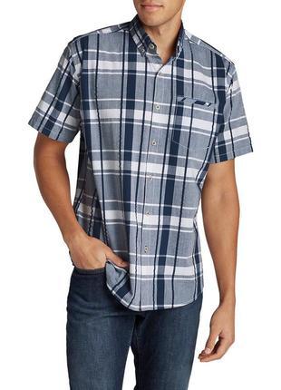 Тенниска eddie bauer bainbridge ii shirt-sleeve seersucker