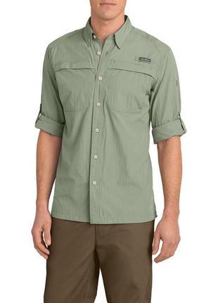 Рубашка eddie bauer guide long-sleeve shirt