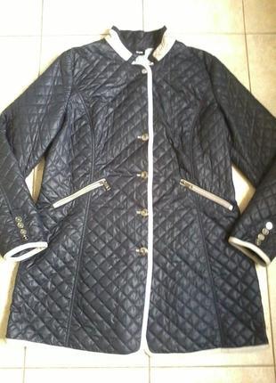 Облегченное стёганное пальто taifun (gerry weber) р.50-52 (eur 44)