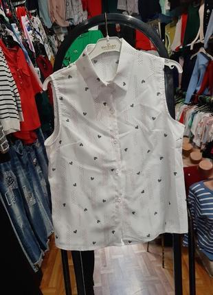 Стильная блуза с воротником