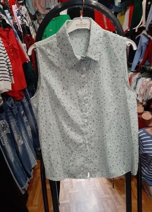 Стильная блузка с воротником