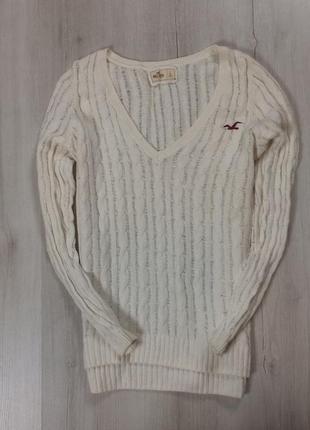 N8  f8 женский пуловер hollister холлистер свитер пуловер джемпер