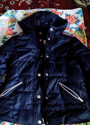 Куртка деми на флиске