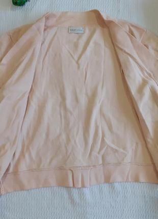 Болеро накидка рукава пудра пудровый персиковый без застежки