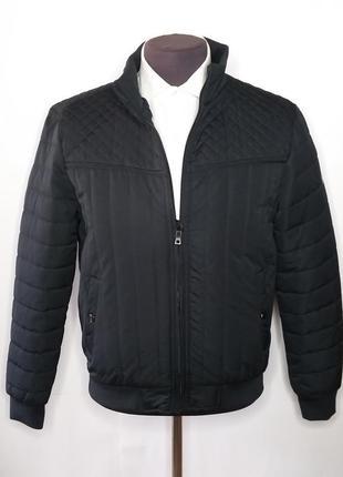 Куртка мужская батал демисезонная черная