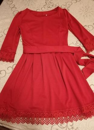 #розвантажуюсь червоне плаття