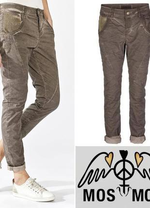 Женские масляные коттоновые прямые джинсы брюки mos mosh турция этикетка