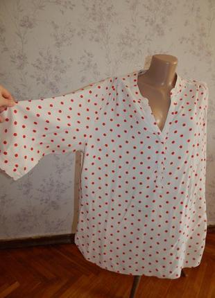 George блузка вискозная стильная модная р20 большой размер moda
