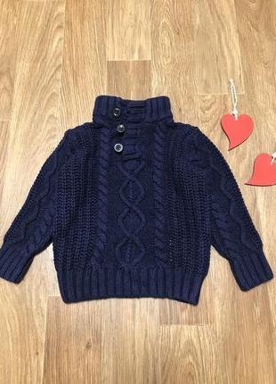 Стильный свитер кофта вязанный gap