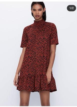 Платье zara зара новая колекция 2020