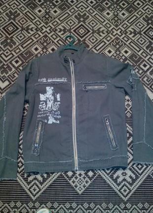 Куртка джинсова l-xl