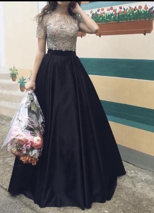 Выпускное платье на вечер crystal design
