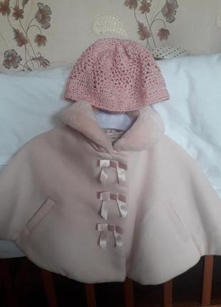 Пальто кашемировое для малышки