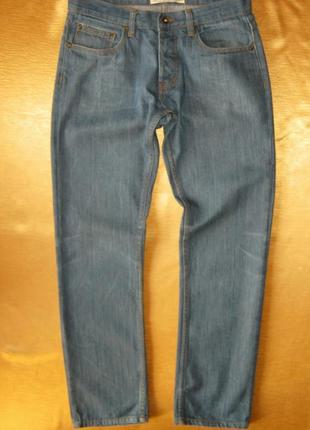 Стоп качественные стильные джинсы зауженного кроя topman в идеале