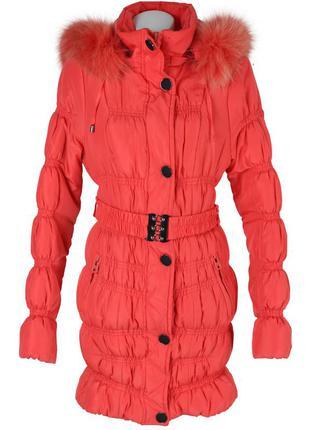 Стеганная утепленная куртка