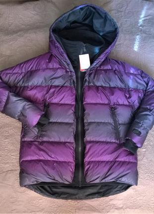Ультрамодная модель oversize cocoon. пуховик/парка/куртка, nike uptown 550 parka. l,xl
