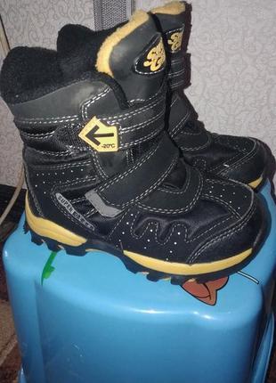 Фирменные термо-ботиночки