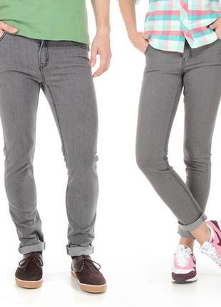 Оригинальные качественные джинсы cheap monday tight jeans 45 min stone wash unisex