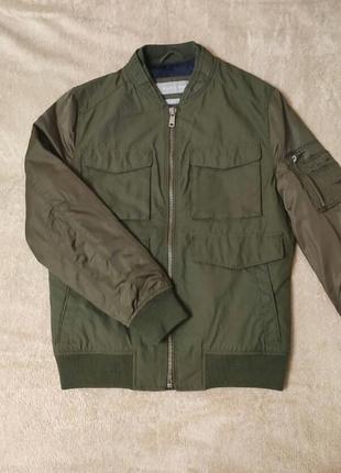 Куртка демисезонная zara man. размер s