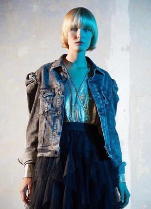 Maryley 🇮🇹джинсовая куртка италия5 фото