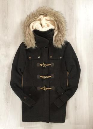 F9 n8 женское пальто kangol плащ куртка кангол с капюшоном