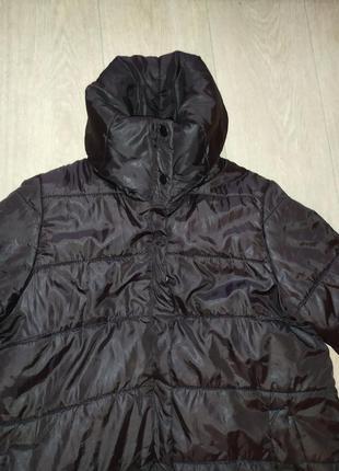 Удлиненная курточка-пальто