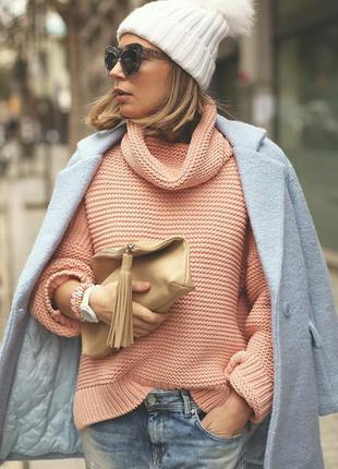 Распродажа! красивый бежевый свитерок от zebra