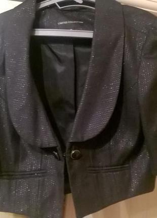 Короткий жакет с коротким рукавом(limited collection)