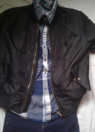 Куртка бамбер ветровка  l