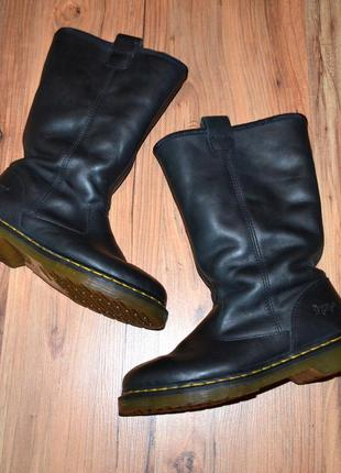 Ботинки dr. martens -  39 размер кожа
