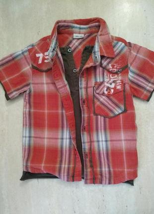 Многослойная рубашка cherokee на 1.5-2.5 года